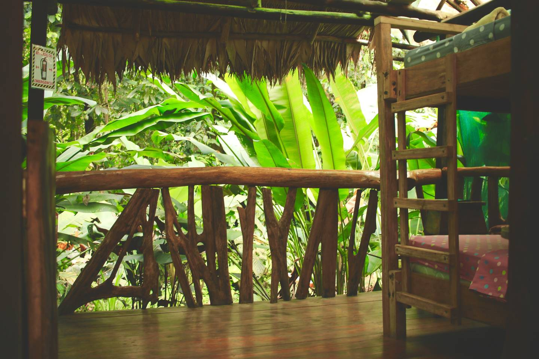 Dschungel-Hütte in Costa Rica