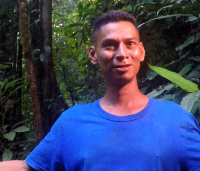 Dschungel Guide in Costa Rica