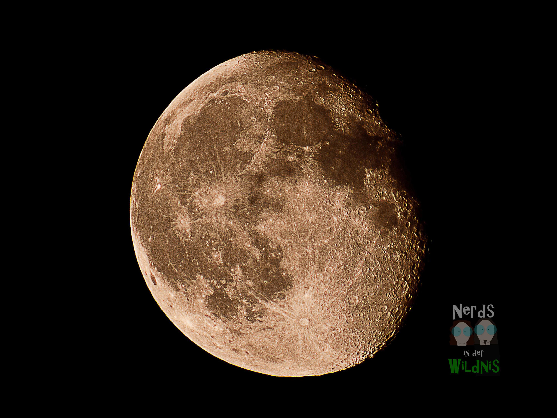 Nahaufnahme Mond (Foto: Merlin Schönfisch)